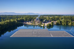 Suntech supplies PV modules to the largest floating solar power plant in Germany